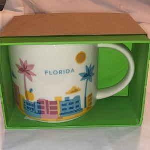 NIB Starbucks Florida YAH Mug